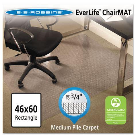 Es Robbins Everlife Chair Mat by Esr Usa