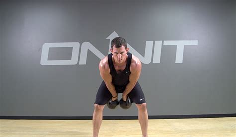 kettlebell clean muscle swing double build exercise onnit exercises academy press