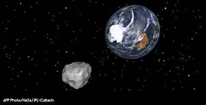 Dangerous asteroid on Earth's orbit | CSGlobe