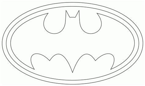 Coloriage Batman Logo à Imprimer Sur Coloriages .info