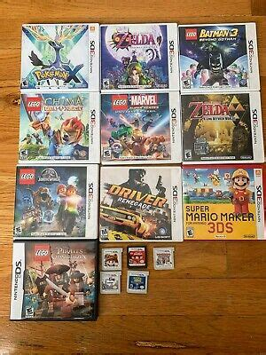 (from yoyogames.com)upgrader included as well. Nintendo 3DS Games Bundle / Lot 15 Games Lego + Super ...