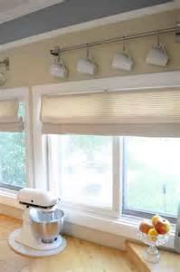 Kitchen Curtain Ideas With Blinds by Diy Kitchen Window Treatments Decor Ideasdecor Ideas