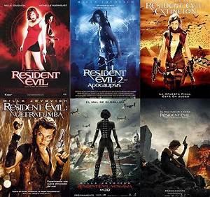 Saga: Resident Evil (1 6) Cine Underbrain Mgz