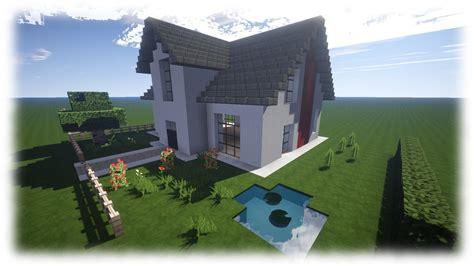 Meine Schönen Minecraft Häuser  Minecraft Häuser Bauen