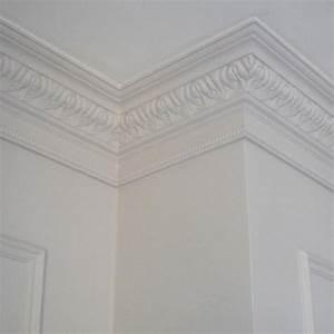 Corniche Plafond Platre : corniche plafond luxxus orac decor c219 moulure effet pl tre ~ Voncanada.com Idées de Décoration