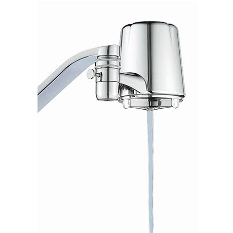 kitchen faucet water filters culligan fm 25 faucet mount water filter chrome