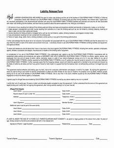 free liability waiver form template With waiver document free