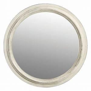 Miroir Rond Laiton : miroir rond blanc blanc interior 39 s ~ Teatrodelosmanantiales.com Idées de Décoration