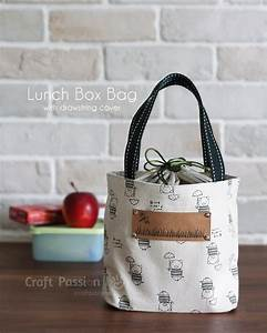 Lunch Box Bag - Free Sewing Pattern Craft Passion