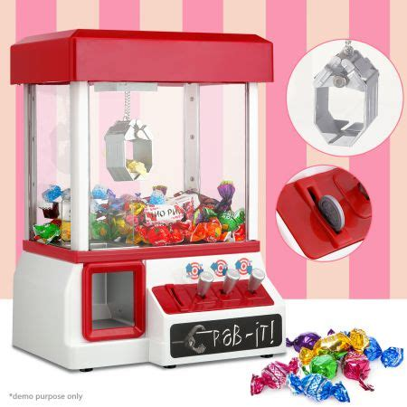 carnival style arcade claw grabber prize machine sales