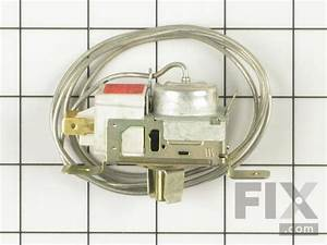 Oem Whirlpool Refrigerator Thermostat Assembly  Wp2198202
