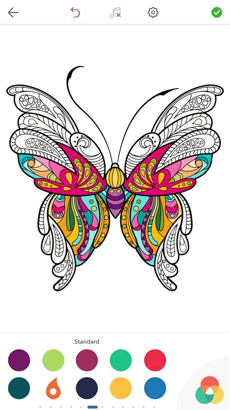 coloring butterfly pages adult papillon apps app coloriage amazon adulte phone windows stress android anti