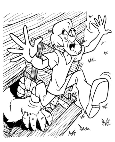 scooby doo colouring pages  topcoloringpagesnet