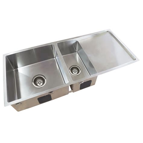 everhard kitchen sinks everhard squareline plus one and half bowl sink and 3616