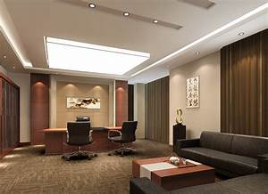 CEO office Chinese modern style Interior Design