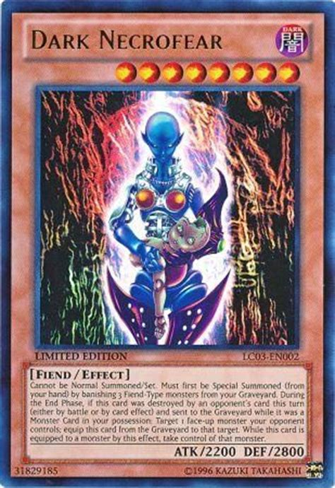 necrofear lc03 en002 ultra 1st edition legendary collection 3 yugi s world 1st