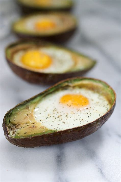 cooked avocado baked avocado eggs being on tv eating bird food