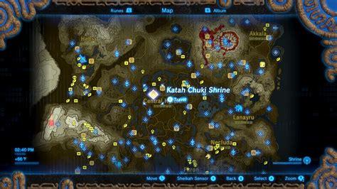 zelda breath   wild guide katah chuki shrine polygon