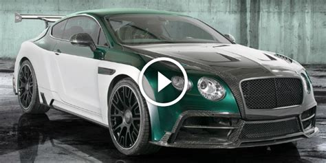 bentley concept car 2015 bentley sports gt race car concept by mansory unveiled