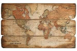 Weltkarte Bild Holz : bild weltkarte online kaufen otto ~ Lateststills.com Haus und Dekorationen