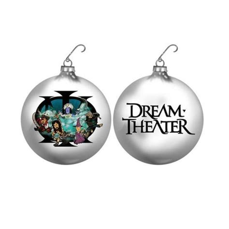 dream theater band animation holiday ornament