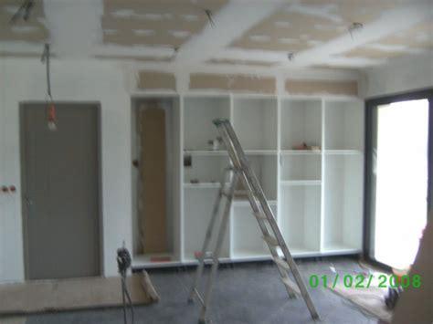 fixer meuble haut cuisine placo fixer meuble haut cuisine placo dootdadoo com idées de