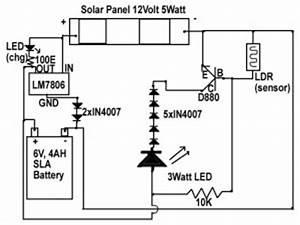 solar emergency light circuit diagram electronic With solar led light circuit diagrams