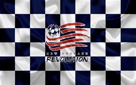 Download wallpapers New England Revolution, 4k, logo ...