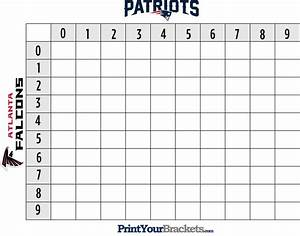 free printable football 50 squares natural buff dog With printable superbowl squares template