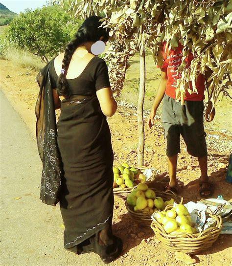Desi Housewife Aunty Saree Back Hot Photo Bra Blouse Remove
