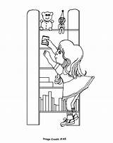 Pages Shelf Colouring Coloring Elf Shelves Toys Toy Christmas Sheets Printable Template Comments sketch template