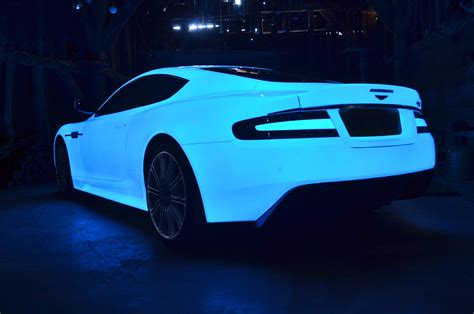 Uv Coated Aston Martin Dbs Glows And Goes In Gumball 3000