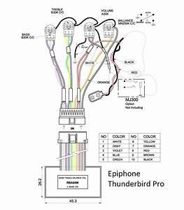 Epiphone Thunderbird Pro Iv Died