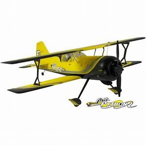Pitts Python Avion Biplan RC Electrique Brushless 4 Voies