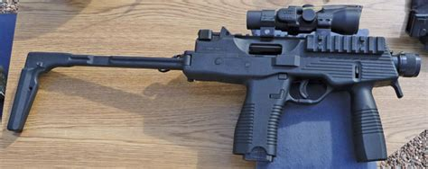 Brugger & Thomet's Mp9 In 6.5×25 Cbj