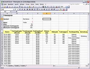 excel vorlage trainings planer download chip With preisvergleich excel vorlage