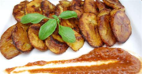 cuisiner le plantain alloco recette par tchop afrik 39 a cuisine