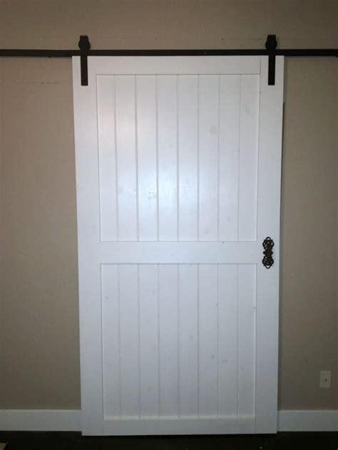 How To Build Barn Door Hardware by Remodelaholic Cheap Easy Diy Barn Door