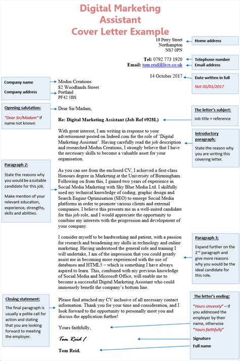 Marketing Cover Letter Uk by Cover Letter Digital Marketing Free Digital Marketing