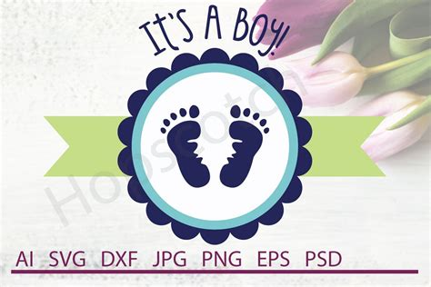 I love the day every month when i get to share another list of free svg files. It's a Boy SVG, Baby SVG, DXF File, Cuttable File (101206 ...