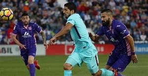 FC Barcelona ontsnapt dankzij Suárez tegen uitblinkende