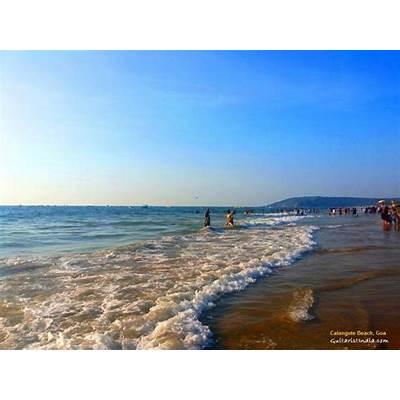 At beautiful Calangute Beach in GoaKapil Srivastava