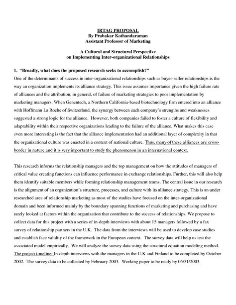 Study Proposal Example Mind Map Essay Experimental Research Proposal