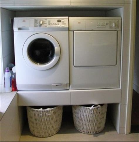 kast voor ingebouwde wasmachine