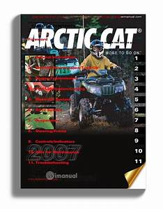 Arctic Cat 2007 Y12 90cc Service Manual