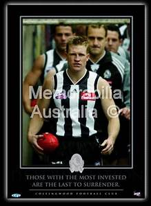 Nathan Buckley - Inspirational Print :: Collingwood ...