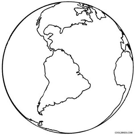 printable earth coloring pages  kids coolbkids