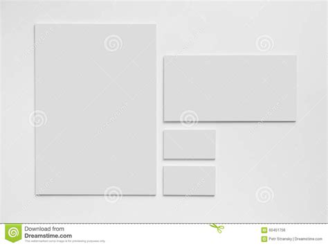 gray simple stationery mock  template  white stock
