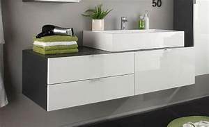 Waschbeckenunterschrank Mit Aufsatzwaschbecken : aufsatzwaschbecken mit unterschrank stehend ~ Indierocktalk.com Haus und Dekorationen