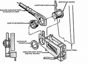 1991 Lincoln Town Car Brake Replacement System Diagram